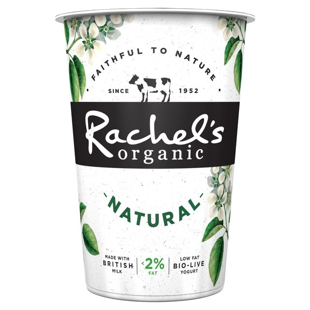 Rachel S Organic Low Fat Natural Yogurt 450g From Ocado