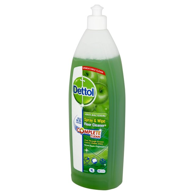 Dettol Spray & Wipe Floor Cleaner Apple