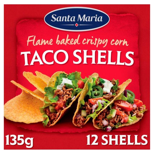 Santa Maria Taco Shells Ocado