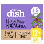 Little Dish 1 Yr+ Mild Chicken Korma