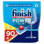 Finish All in 1 Max Dishwasher Tablets Lemon Scent