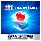 Finish All in 1 Max Dishwasher Tablets Lemon