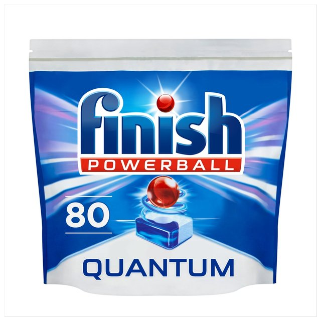 Finish Quantum Max Tablets Regular 80 Per Pack From Ocado