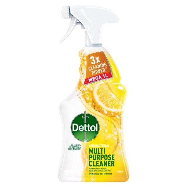 Dettol Power & Fresh Advance Antibacterial Spray Citrus