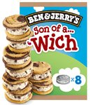 Ben & Jerry's Son of a Wich Cookie Dough Ice Cream Sandwich