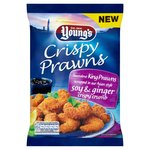 Young's Cripsy Prawns in a Soy & Ginger Crumb Frozen