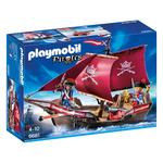 Playmobil Pirate's Cannon Boat, 4yrs+