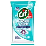 Cif Power & Shine Antibac Wipes