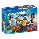 Playmobil Pirates Treasure Hideout, 4yrs+
