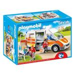 Playmobil 6685 City Life Ambulance with Lights and Sound