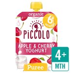 Piccolo Organic Cherry & Yoghurt with Wholegrain Oats
