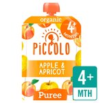 Piccolo Organic Apple & Apricot with a Hint of Cinnamon