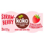 Koko Dairy Free Strawberry Yogurt