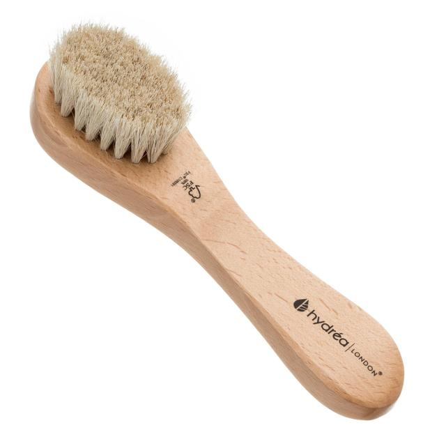 Hydrea London Facial Brush with Pure Bristle, Soft /Medium Strength