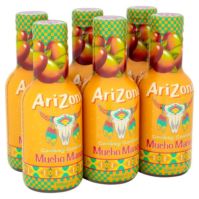 AriZona Mucho Mango Juice Drink