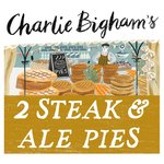 Charlie Bigham's 2 Steak & Ale Pies