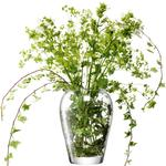 LSA Flower Garden Bouquet Vase, Clear