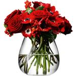 LSA Flower Table Bouquet Vase, Clear