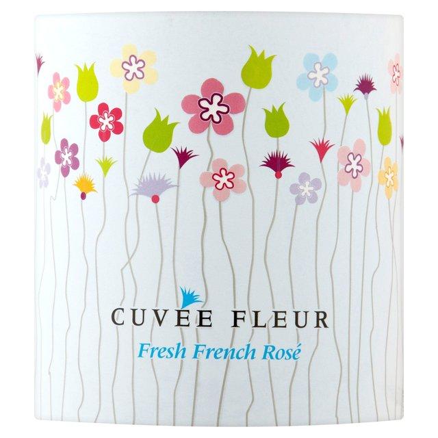 Cuvee Fleur Vdp Rose 75cl From Ocado