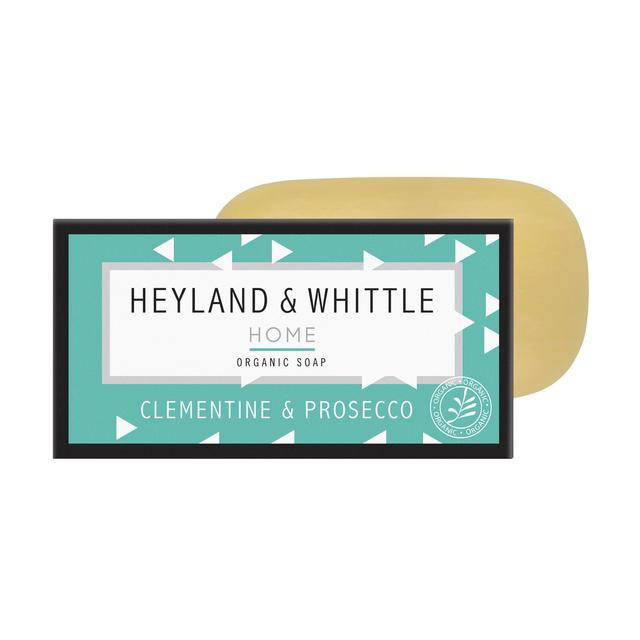 Heyland & Whittle Home Organic Soap Bar, Clementine & Prosecco