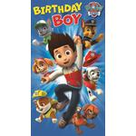 Paw Patrol Blue Birthday Card