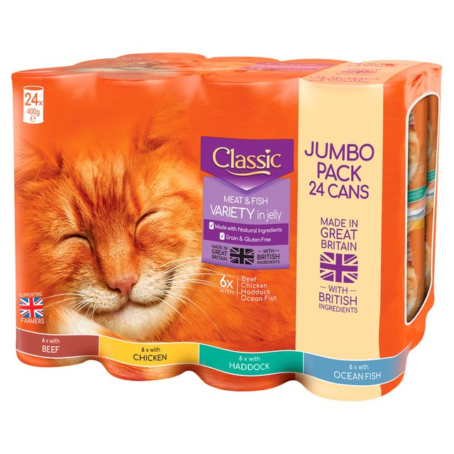 Butchers Classic Cat Food 24 X 400g From Ocado