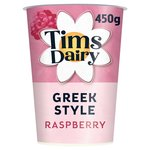 Tims Dairy Greek Style Raspberry Yogurt