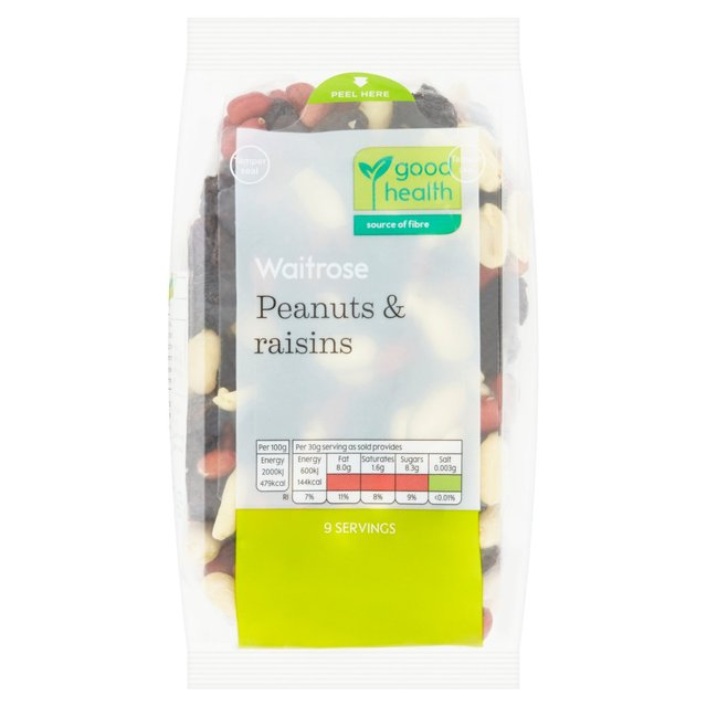 Waitrose Love Life Peanuts & Raisins