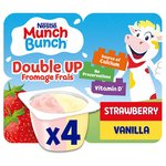 Munch Bunch Double Up Fromage Frais Strawberry & Vanilla