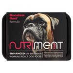 Nutriment Beef Formula Raw Dog Food