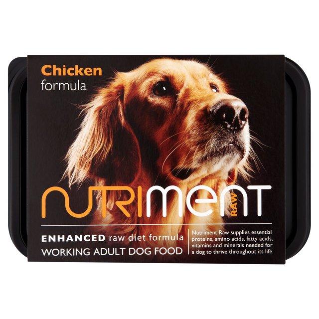 Raw Dog Food Us: Nutriment Chicken Formula Raw Dog Food