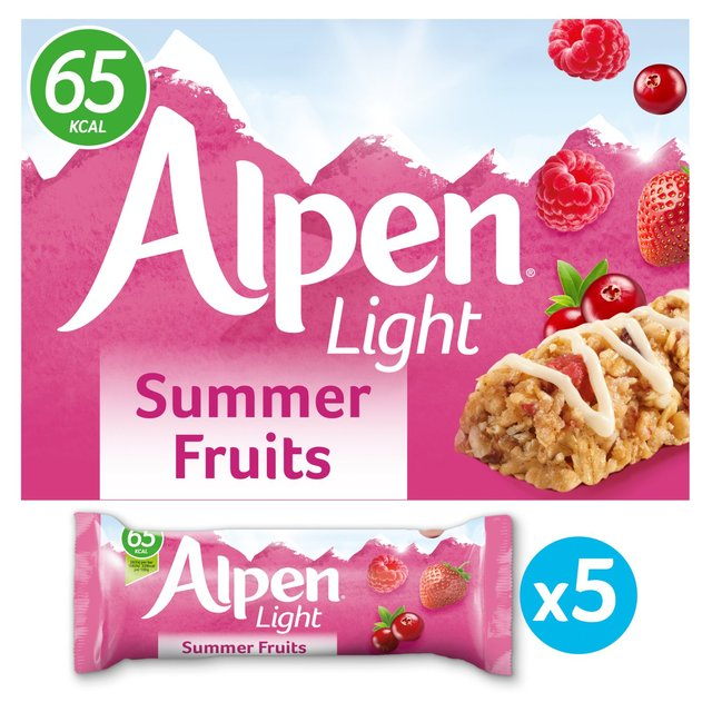 Alpen Light Summer Fruits Bars