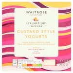 Waitrose Thick & Creamy Custard Style Yogurt