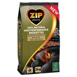 Zip 100% Natural Barbecue Charcoal Briquettes