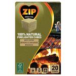Zip 100% Natural Firelighter Cubes