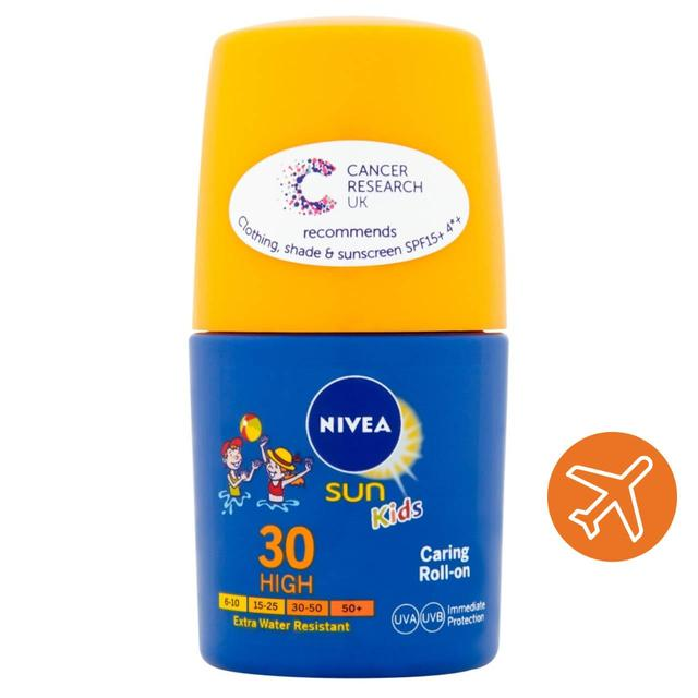 Nivea Sun SPF 30 Kids Caring Roll On