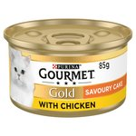 Gourmet Gold Savoury Cake Cat Food Chicken