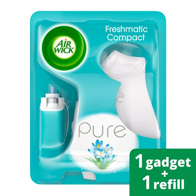 Air Wick Freshmatic Compact Refill : Airwick pure freshmatic compact kit spring delight case of