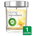Airwick Home Signature Vanilla Bean & Coconut Milk Candle