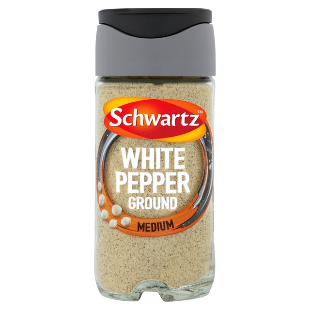 Schwartz Ground White Pepper Jar Ocado