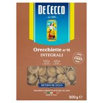De Cecco Whole Wheat Orecchiette