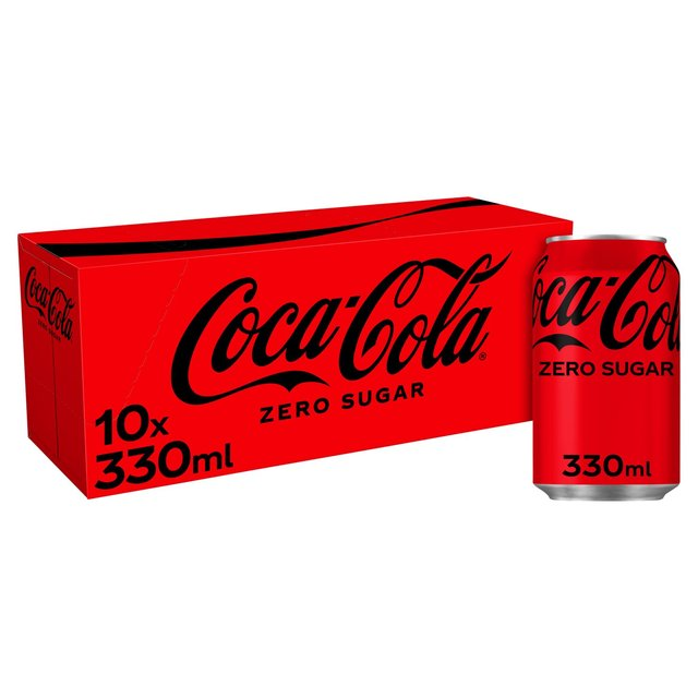 coca cola zero sugar fridge pack 10 x 330ml from ocado. Black Bedroom Furniture Sets. Home Design Ideas