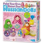 Paint Your Own Trinket Box, Russian Dolls, 5yrs+