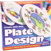 Kidz Labs Create Your Own Plate Design Markers, 3yrs+