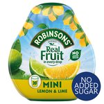 Robinsons Squash'd Lemon & Lime No Added Sugar