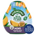 Robinsons Squash'd Mango & Passion Fruit No Added Sugar