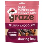 Graze Dark Chocolate Cherry Tart