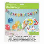 Happy Birthday Banner, Personalise