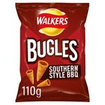 Walkers Bugles Southern Style BBQ Snacks