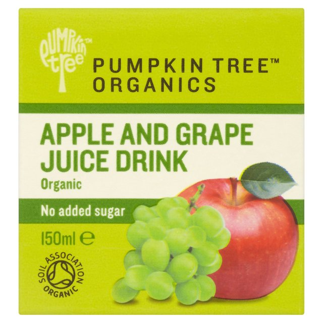 Pumpkin Tree Organics Apple & Grape Juice